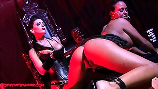 superstar Vampires girl-on-girl Domination Whipping Heel Worship