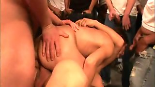 50 Loads Dumped Into One Whores Anal Creampie!