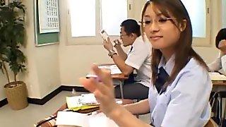 Amu kosaka pretty asian schoolgirl gives movie